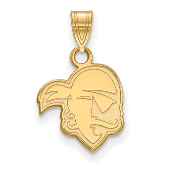 Gold Seton Hall University NCAA Pendant