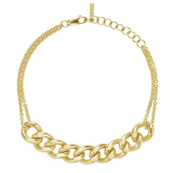 The Curb Chain Bracelet