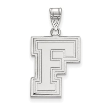 Sterling Silver Fordham University NCAA Pendant