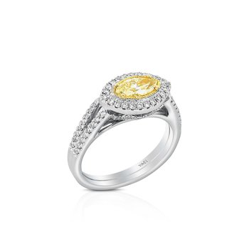 Fancy Marquise Diamond Ring