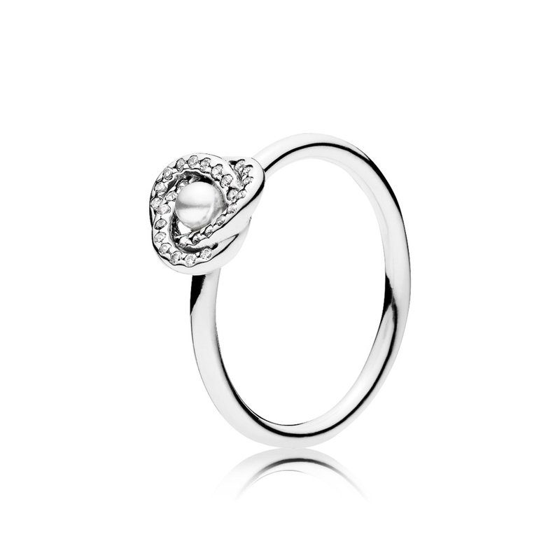 Taylors Jewellery Shop Pandora Luminous Love Knot White Crystal