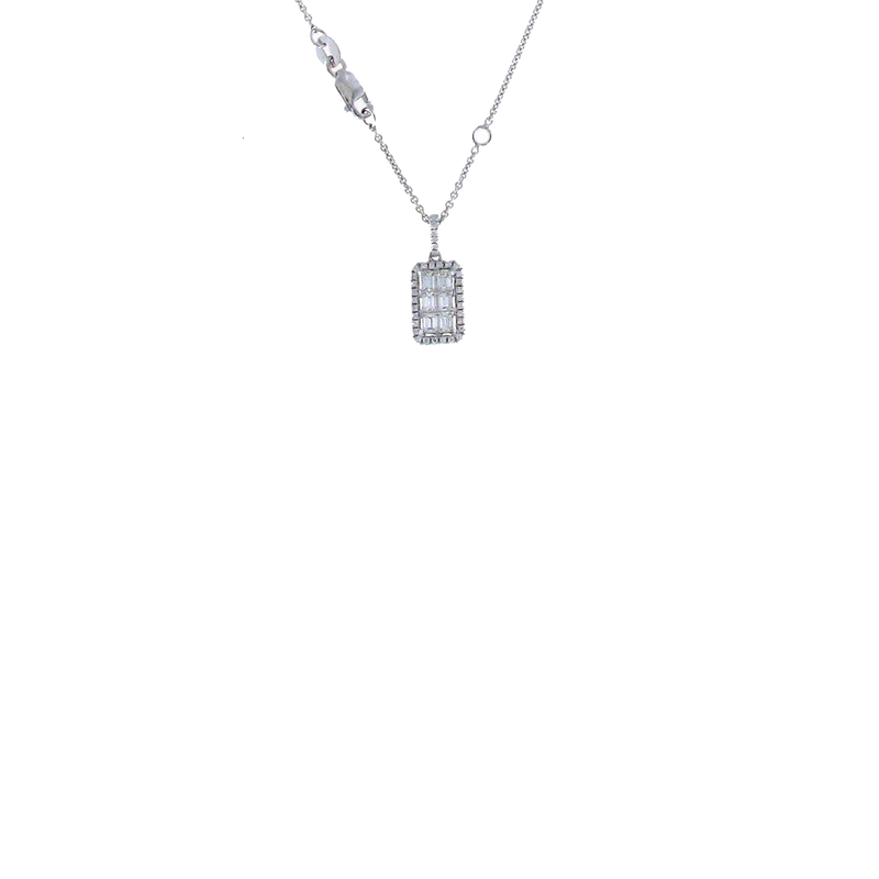 Roberto Coin 18Kt White Gold Diamond Pendant