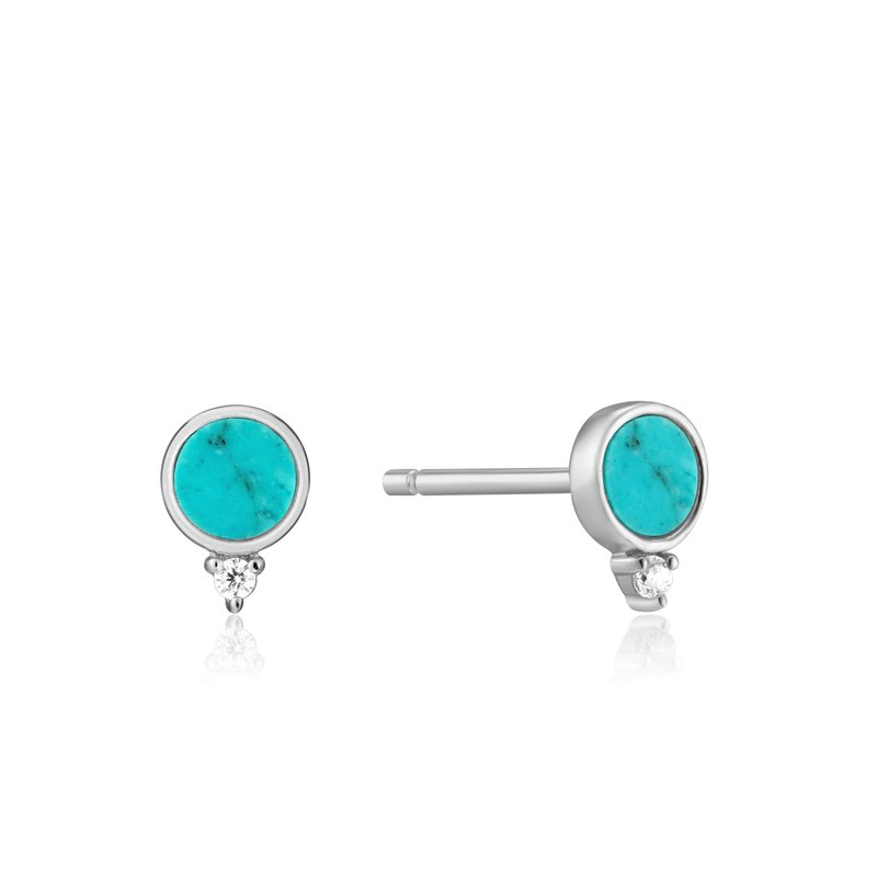 Ania Haie Turquoise Stud Earrings