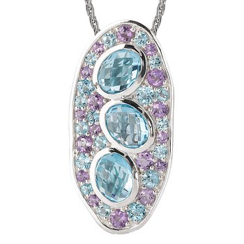Ladies Gemstone Pendant