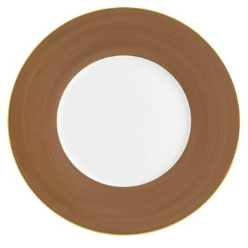 Taupe Presentation Plate