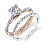 MARS Jewelry MARS 26509 Diamond Engagement Ring 0.17 Ctw.