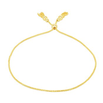 14K Gold Tassels Friendship Bracelet