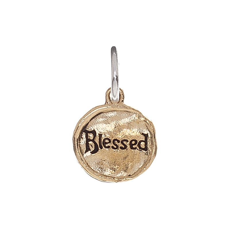 Waxing Poetic Camp Charm - Blessed