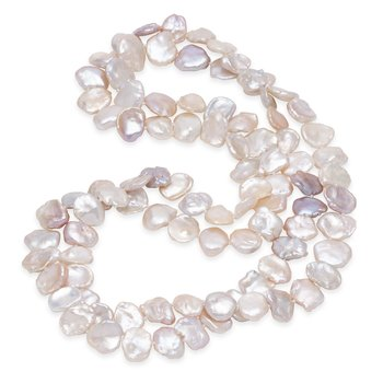 Endless Style Keshi Freshwater Pearl Strand Necklace