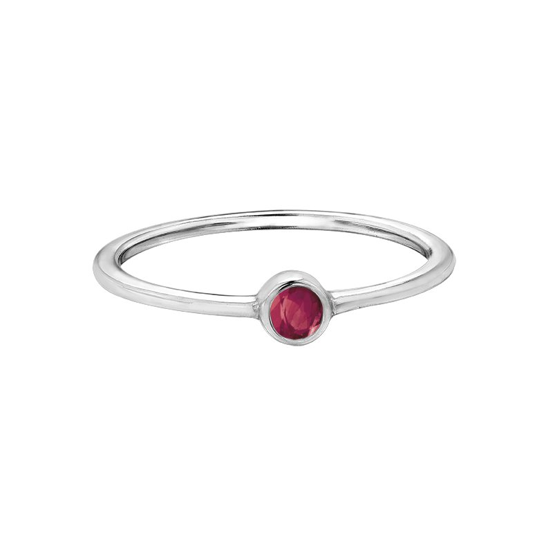 Timeless Beauty Birthstone Ladies Ring
