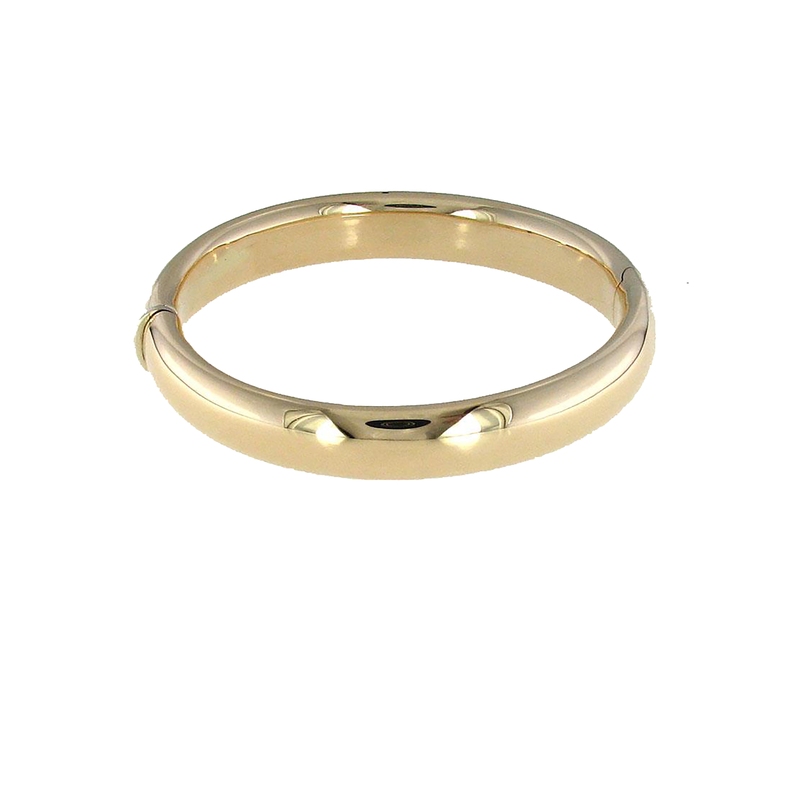 Roberto Coin 18Kt Gold Wide Classic Bangle