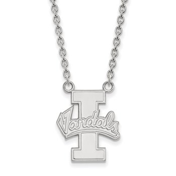 Gold University of Idaho NCAA Necklace