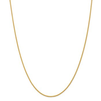 14k 1.5mm Parisian Wheat Chain