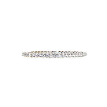 #25638 Of 18Kt Gold Diamond Bracelet