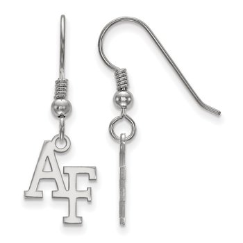 Sterling Silver United States Air Force Academy NCAA Earrings