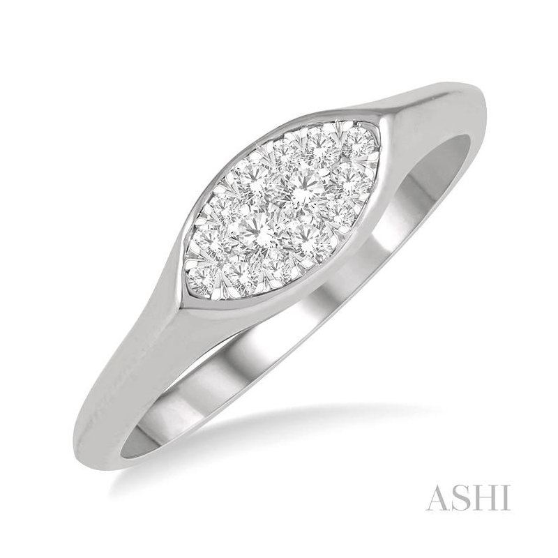 Gemstone Collection marquise shape lovebright essential diamond ring