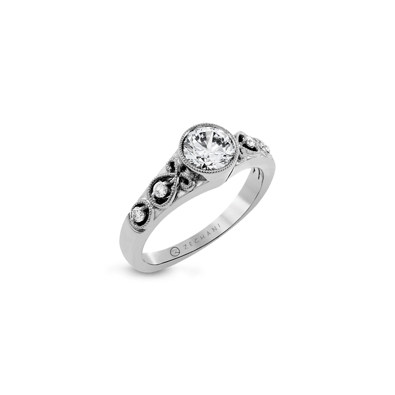 Zeghani ZR1209 ENGAGEMENT RING