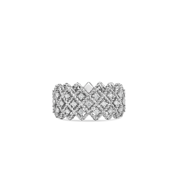 #19380 Of Three Row Diamond Band