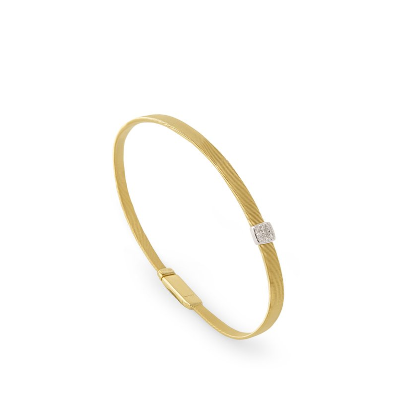 Marco Bicego Masai Single Station Diamond Bracelet in Yellow Gold