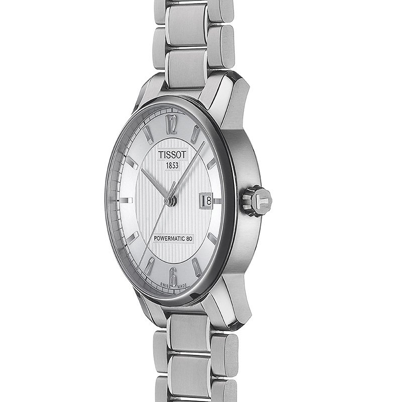 Titanium Automatic Men's Watch with Silver Dial