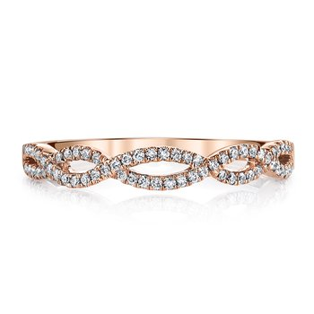 MARS Jewelry - Wedding Band 25162B-R20RG