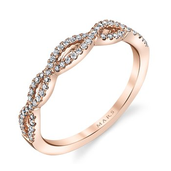 MARS 25162B Diamond Fashion Band 0.18 ctw