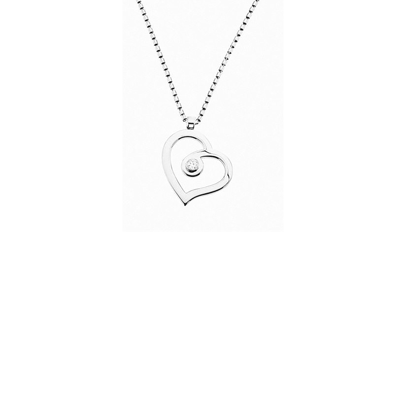Roberto Coin Cento Polished Heart Pendant