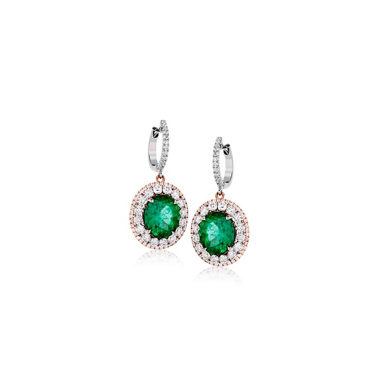 Simon G ME2370 COLOR EARRING