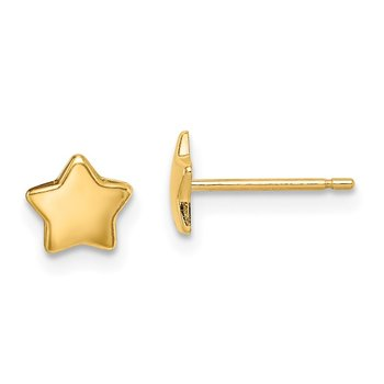 14k Madi K Star Post Earrings