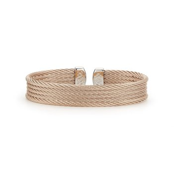 Carnation Cable Mini Cuff