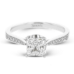 Simon G TR701-PC ENGAGEMENT RING