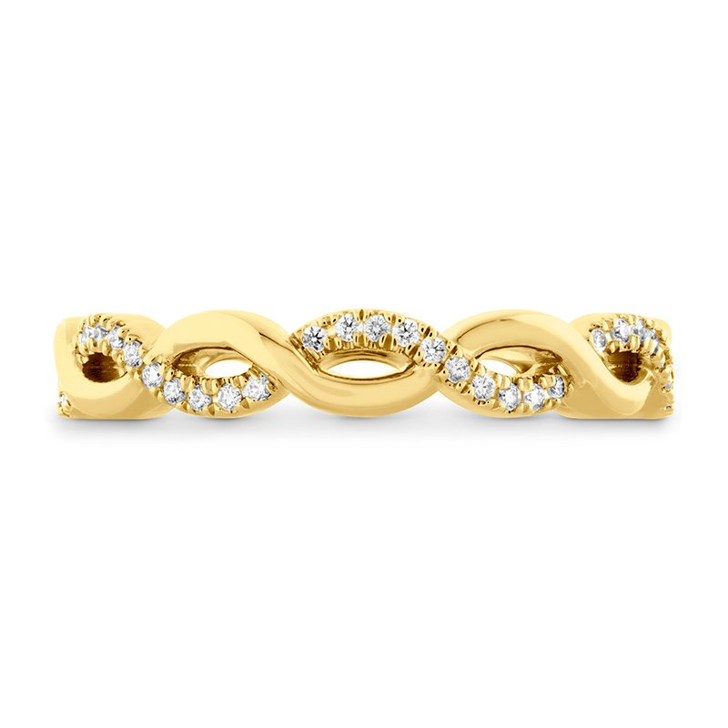 Hearts on Fire Destiny Lace Twist Eternity Band