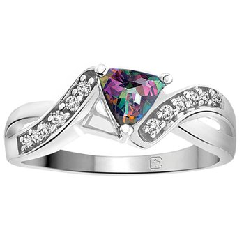Mystic Topaz Ladies Ring