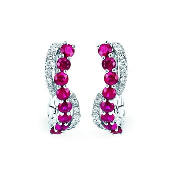 Earrings Rd V 0.124