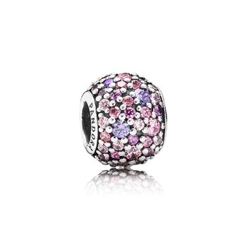 Pavé Lights Charm, Multi-Colored CZ
