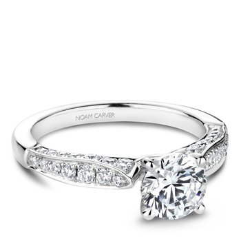 Noam Carver Regal Engagement Ring B202-01A