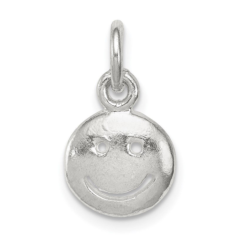 Quality Gold Sterling Silver Smiley Face Charm