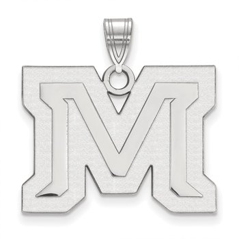 Gold Montana State University NCAA Pendant