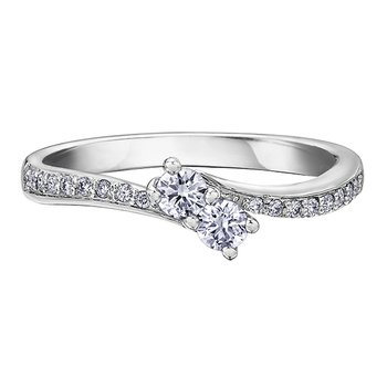 Together Forever™ Diamond Ladies Engagement Ring