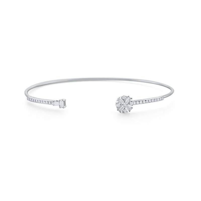 KC Designs 14K Diamond Cuff Bracelet