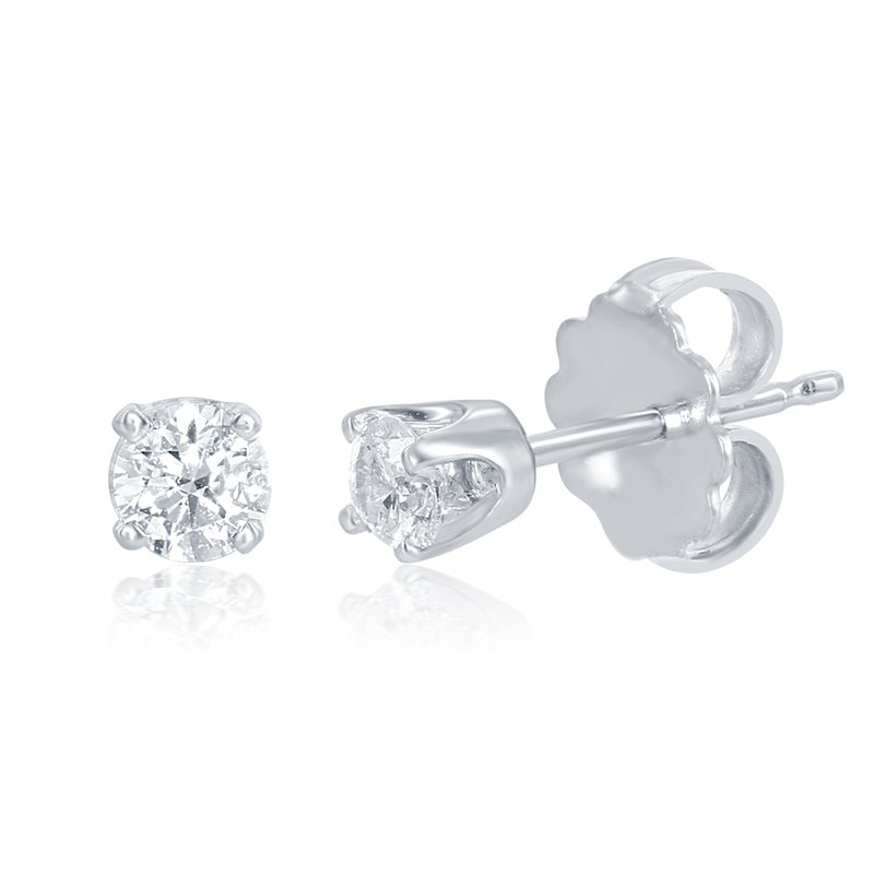 S. Kashi  & Sons Diamond Stud Earring