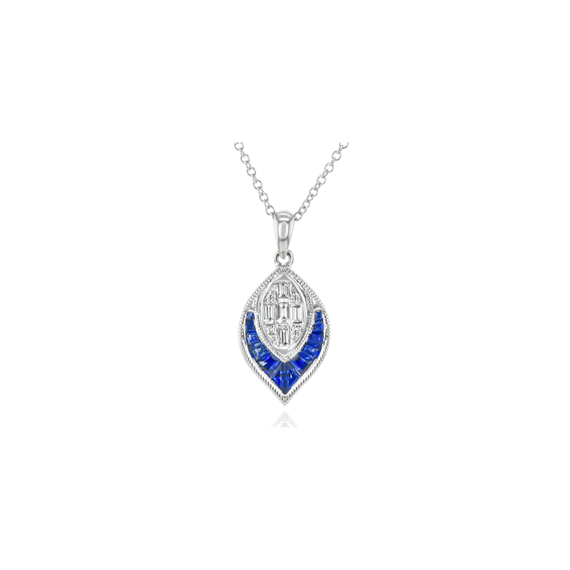 Simon G LP4780 COLOR PENDANT