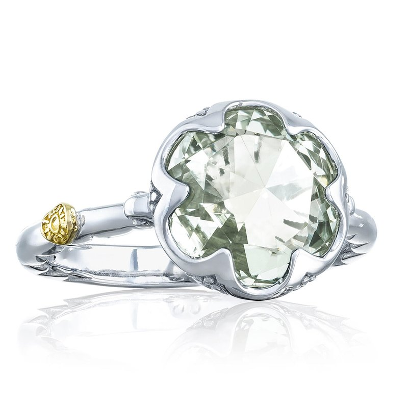 Tacori Fashion Crescent Bezel Ring featuring Prasiolite