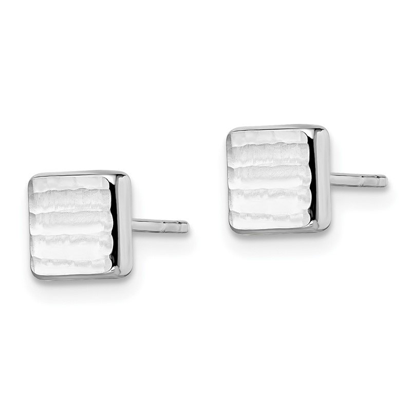 Leslie's Leslie's 14K White Gold Post Earrings