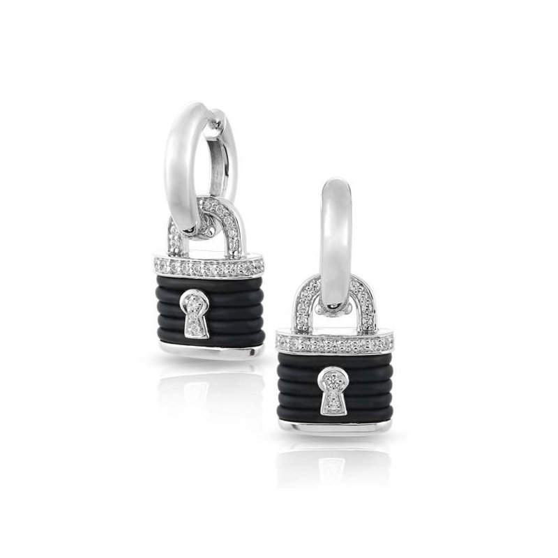 Belle Etoile Lock Earrings