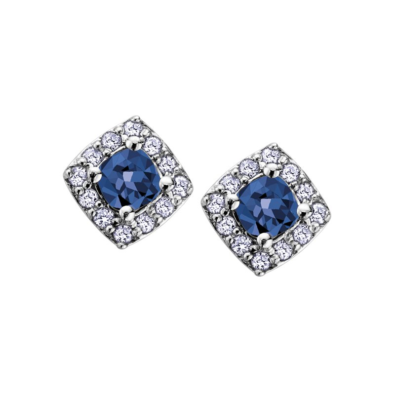VanValkenburg Collection Birthstone & Diamond Earrings