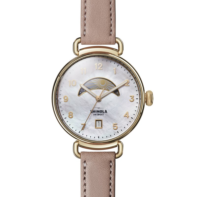 Shinola The Canfield Day And Night 38mm Womens Watch