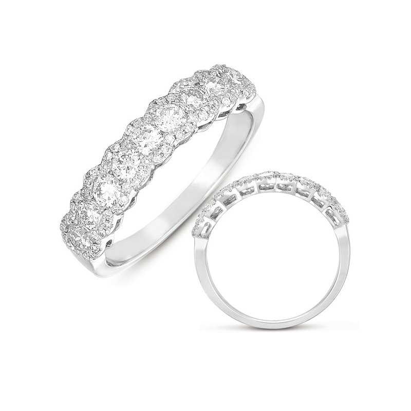 S. Kashi & Sons Bridal White Gold Fashion Ring