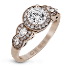 Zeghani ZR910 ENGAGEMENT RING