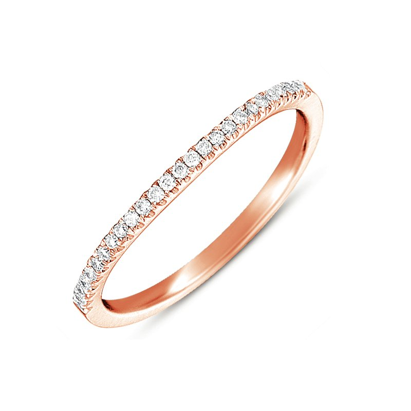 S. Kashi & Sons Bridal Rose Gold Curved Band